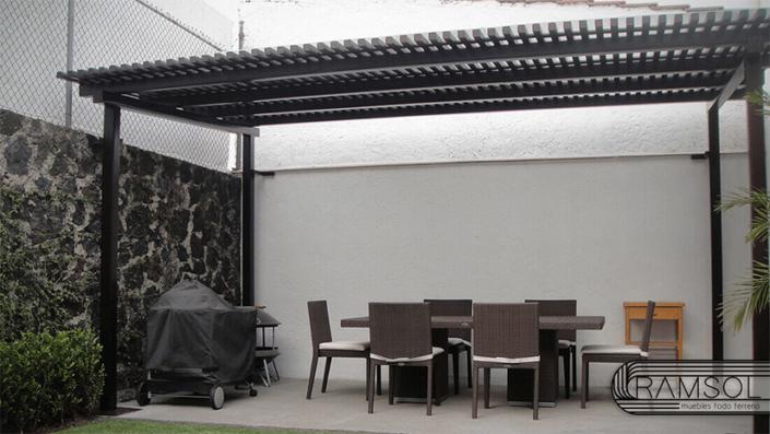 Fabricación e instalación de Pérgolas
