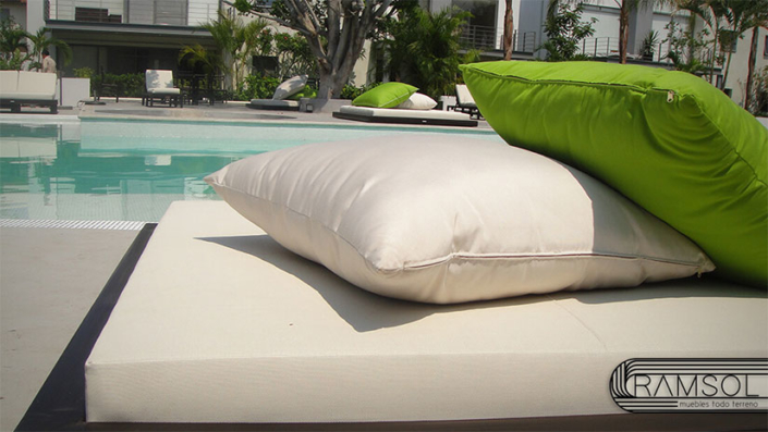 Lounge Beds ZeroMadera Waterproof Ramsol.
