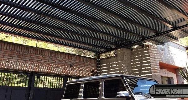 ramsol_pergolas para garage